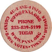 Token - Pacific Northwest Numismatic Association – reverse