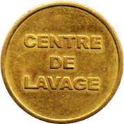 Car Wash Token - Centre de Lavage (CBsquare; 22 mm) – reverse