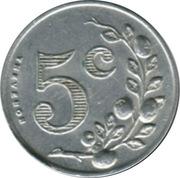 5 Centimes - Société des Tramways bretons - St Malo [35] – reverse