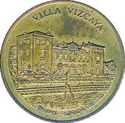 Token - Villa Vizcaya – obverse