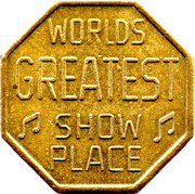 Token - Worlds Greatest Show Place – obverse