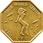 Token - Worlds Greatest Show Place – reverse