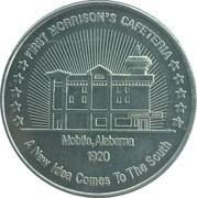 100th Morrison's Cafeteria – reverse
