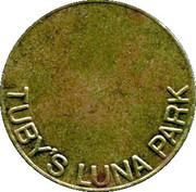 Token - Tuby's Luna Park – obverse