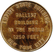 Empire State Building Token – reverse