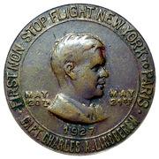 Token - Lucky Lindbergh Coin – obverse