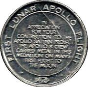 Token - Apollo 8 – reverse