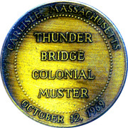 Thunder Bridge Muster – reverse
