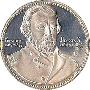 President Ulysses S Grant – obverse