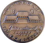Bronze Médal Tupperware 1970 – obverse