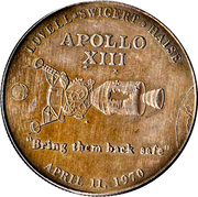 Apollo XIII – obverse