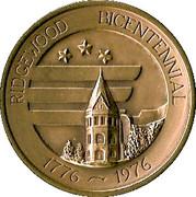 Ridgewood bicentennial – obverse