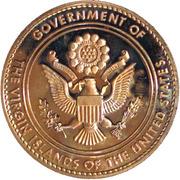 Governor Melvin Evans Medal – reverse