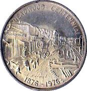 Deadwood Centennial 1876-1976 – reverse