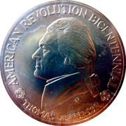 Medal - American Revolution Bicentennial (Thomas Jefferson) – obverse