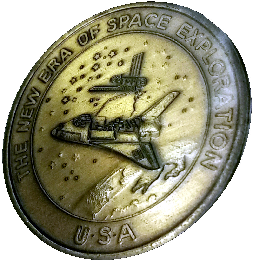space shuttle challenger coins - photo #45
