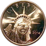 Token - Liberty (A Gift of Friendship) – obverse