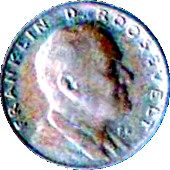 1 Cent - Lucky Play Money (Franklin D. Roosevelt) – obverse