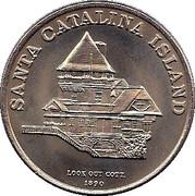 1 Trade Dollar - Catalina Island – obverse