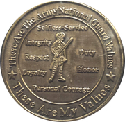 Army National Guard – reverse
