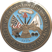 Army of One - Army – obverse