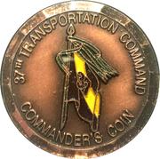 37th Transportation Command – obverse