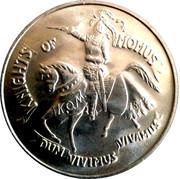 Mardi Gras Dabloon - Knights of Momuts (Louisiana Wildlife) – reverse