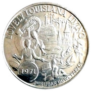 Mardi Gras Dabloon - 2nd Sugar Bowl Parade (New Orleans, Louisiana) – obverse