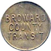 1 Fare - Broward County Transit – obverse