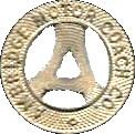 1 Fare - Ambridge Motor Coach Co. (Ambridge, PA) – obverse
