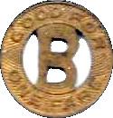 1 Fare - Beidler Street Bus Co. (Muskegon, MI) – reverse