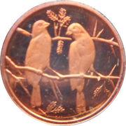 1 Cent (Commemorative Medallion) – reverse