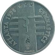 Token - Atlanta 1996 US Olympic Team, General Mills Sponsor (Gymnastics) – obverse