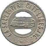 1 Fare - La Salle-Peru City Lines (Illinois) – obverse