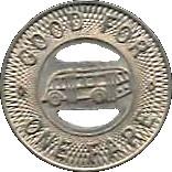 1 Fare - La Salle-Peru City Lines (Illinois) – reverse