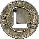 1 Fare - Lima City Lines, Inc. (Lima, OH) – obverse