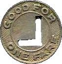 1 Fare - Lima City Lines, Inc. (Lima, OH) – reverse