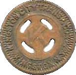 1 Fare - Kingston City Trans. Corp. (Kingston, N.Y.) – obverse