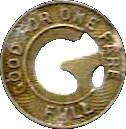 1 Fare - Galveston Electric Co. – reverse