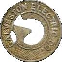 1 Fare - Galveston Electric Co. – obverse