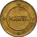 1 Fare - MARTA (Atlanta, Georgia) – obverse