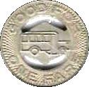 1 Fare - Springfield City Lines (Springfield, Ohio) – reverse
