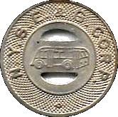 1 Fare - N.Y.S.G. & E. Corp. (Elmira, New York) – obverse