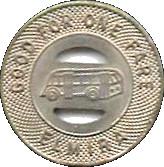 1 Fare - N.Y.S.G. & E. Corp. (Elmira, New York) – reverse