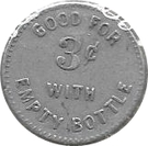 3 Cents - The Factory Stores Co. – reverse