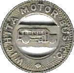 1 Fare - Wichita Motor Bus Co. (Wichita, Kansas) – obverse