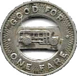 1 Fare - Wichita Motor Bus Co. (Wichita, Kansas) – reverse