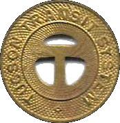 1 Fare - Tuscon Transit System – obverse