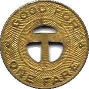 1 Fare - Tuscon Transit System – reverse