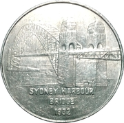 Token - TNT Darling Harbour Monorail (Sydney Harbour Bridge 1932) – obverse